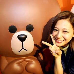 [写真]西内まりやLINE生配信視聴者数31万人