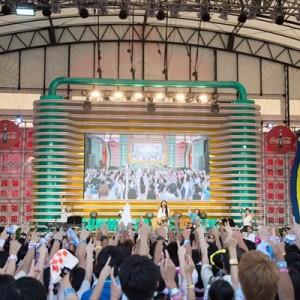 [写真]miwaステージにハジ→(4)