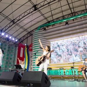 [写真]miwaステージにハジ→(6)