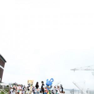 [写真]神田沙也加が梶裕貴と水噴射(3)
