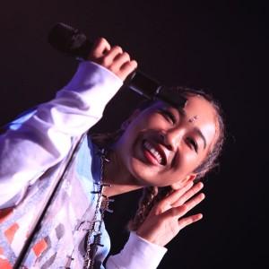 [写真]青山テルマが新曲初披露