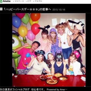 [写真]misonoの31歳誕生日祝う