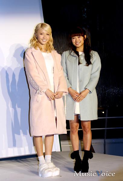 E-girlsのAmi&山口乃々華がセントレア点灯式(2)
