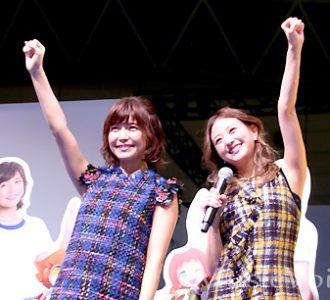 AAA宇野実彩子と伊藤千晃がぷよぷよキャラに(1)