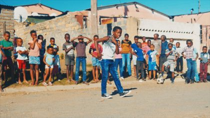 南アフリカで撮影されたシーン