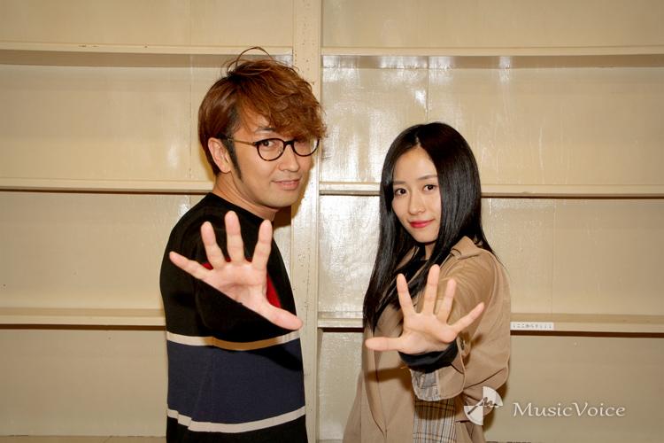 まちゃあき×内木志、セリフなし音楽で魅せる舞台『KAKERU』意気込みを聞く