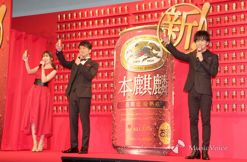 岩田剛典×土田晃之×小嶋陽菜「乾杯!」、3人の共通点は「美味しいもの好き」