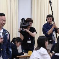 晋平太『叫べ TOKYO TEENS その気持ち、吐き出せ プロジェクト』(写真1)