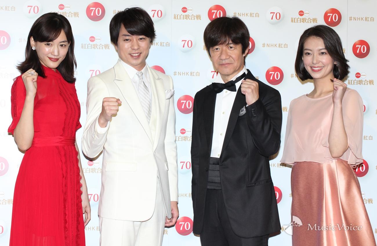 【音楽】内村、チームUSAで「印象に残る紅白に」 綾瀬命名も当初案に櫻井びっくり