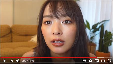 """内田理央、スーパー寝起き""""10分メイク""""動画が反響:「すっぴんから ..."""