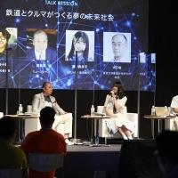"""8瀧野由美子、""""鉄道の未来""""でトークセッション"""