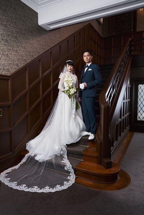 門脇麦、ウエディングドレス姿 夫・高良健吾と気品ある夫婦役